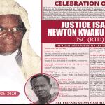 Justice Isaac Newton Kwaku Wuaku JSC (RTD)