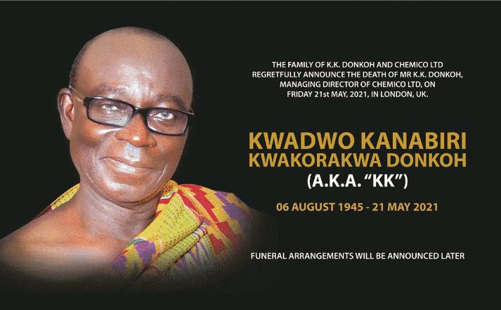 Kwadwo  Kanabiri Kwakorakwa Donkoh a.k.a KK