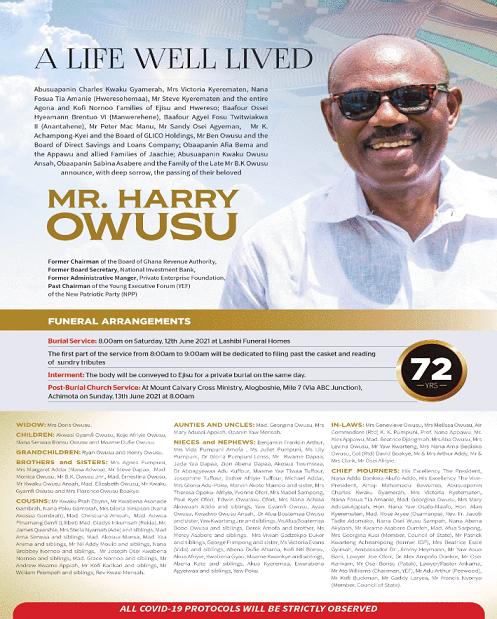 Mr. Harry  Owusu