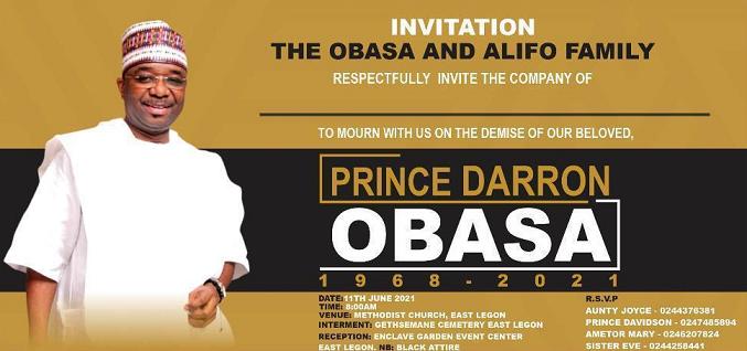 Prince Darron  Obasa